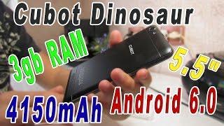 Передпродажна динозавр 3 ГБ оперативної пам'яті Android 6.0 - Розпакування [анбоксинг]
