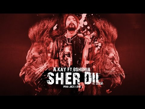 Sher Dil - Akay ft. Bohemia | New 2017 rap/song beat | akay ft. bohemia Type beat| Instrumental