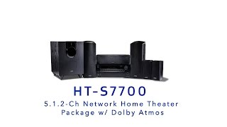 ONKYO - HT-S7700 5.1.2 Ch Network Home Theater Package