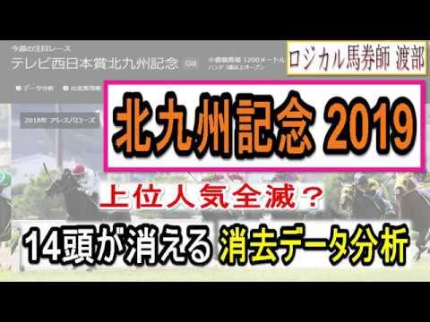 北九州記念2019は厳選8頭!14頭が消える消去データ分析