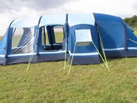 Kampa Filey 6 AirFrame Tent - External - www.outdoormegastore.co.uk ...