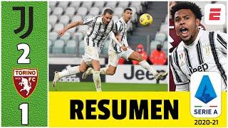 Juventus 2-1 Torino. McKennie y Bonucci consiguieron agónica victoria. Cristiano no figuró | Serie A