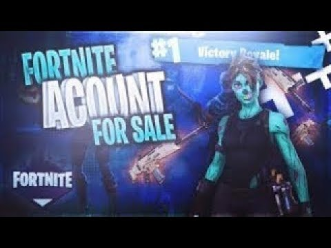 FORTNITE SELLING OR TRADING ACCOUNT ( DM ON TWITTER) LINK THE DESCRIPTION!!!!