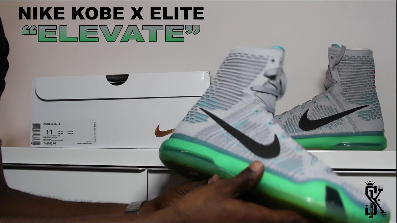 uk availability d86b9 4e5a8 Nike Kobe X Elite
