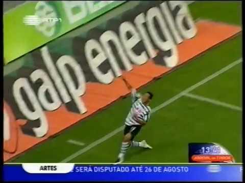 01J :: Sporting - 4 x Académica - 1 de 2007/2008