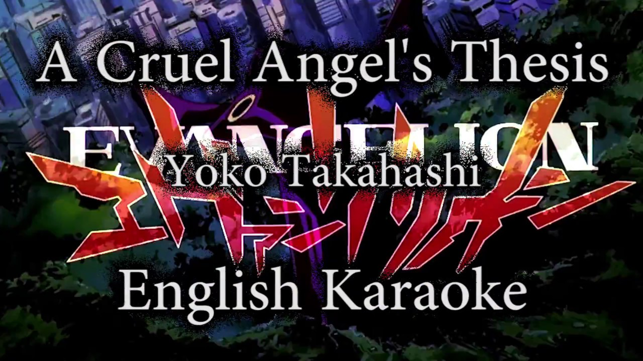 cruel angels thesis off vocal