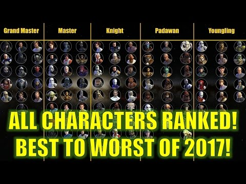 Ahnaldt101 Complete Ranking Of All Heroes  Swgalaxyofheroes
