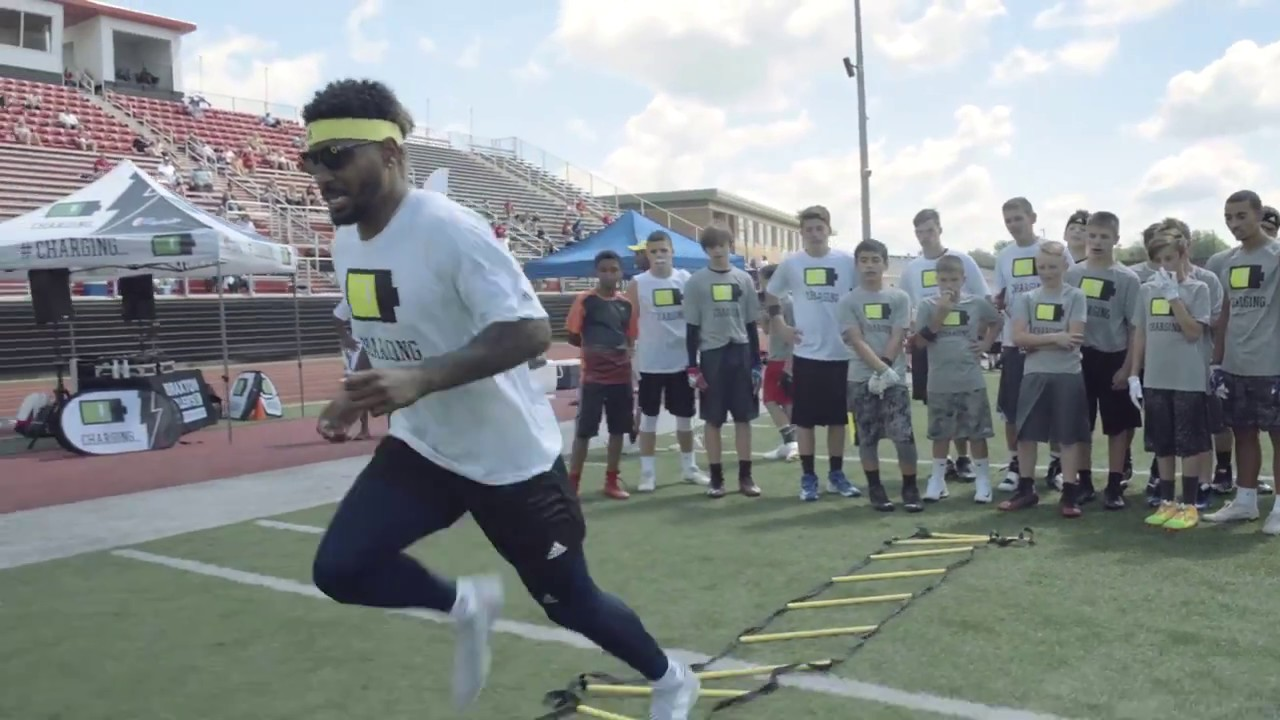 Braxton Miller Football Camp