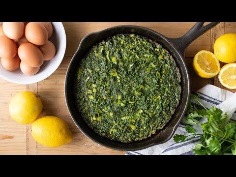 Overstuffed Herb Omelet