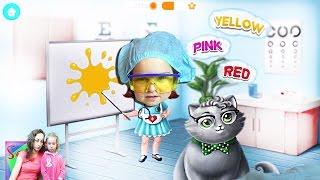 СМЕШНАЯ ВИДЕО ИГРА ДЛЯ ДЕТЕЙ ТОКА БОЛЬНИЦА Лечим больных - Fun Pet Care Kids Games