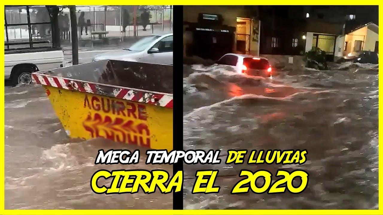 MEGA TEMPORALES de lluvias en Argentina [Tucumán y Córdoba]