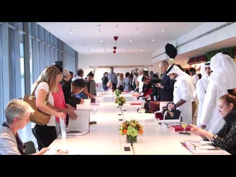 Art of the Emirates' book launch  حفل اطلاق كتاب الفن في الإمارات
