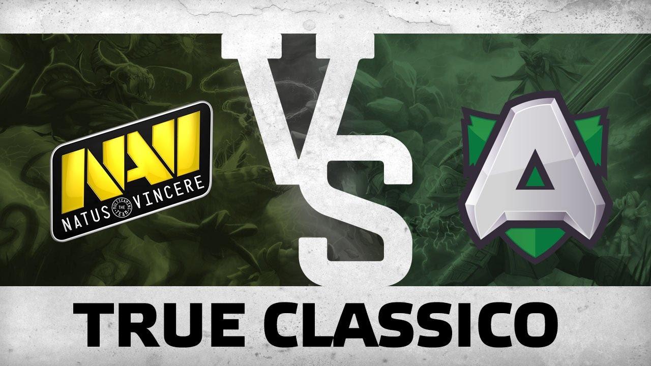 Download WATCH FIRST: True Classico - Na`Vi vs Alliance @ Dream League S6