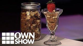 Gluten Free Chocolate Cranberry Granola Recipe   #ownshow   Oprah Winfrey Network