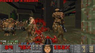 Doom II: Sunder - Map 01 (Python) UV-Max in 2:58