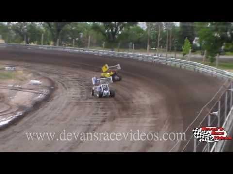 June 22, 2013 | URSS Sprint Car Heats | Phillips County Raceway