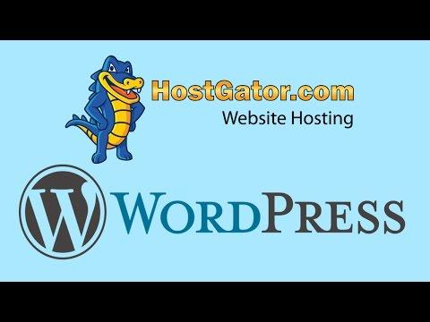 HostGator Review for WordPress Hosting + Full Tutorial (2016) - 동영상