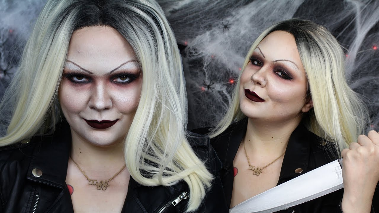 Tiffany Valentine Costume: Bride Of Chucky Makeup Ideas