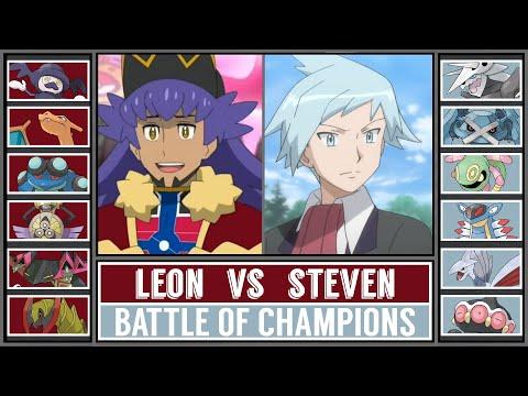 Battle of Champions | LEON vs STEVEN | Pokémon Sword/Shield |