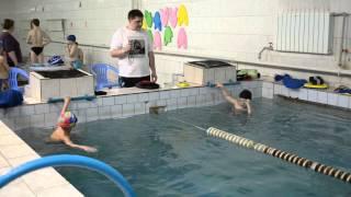 соревнования по плаванию бассейн Дельфин г.Семей