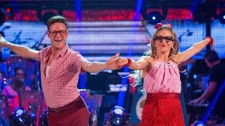 Kellie Bright & Kevin Clifton Cha Cha to 'Don't Go Breaking My Heart' - Strictly Come Dancing: 2015
