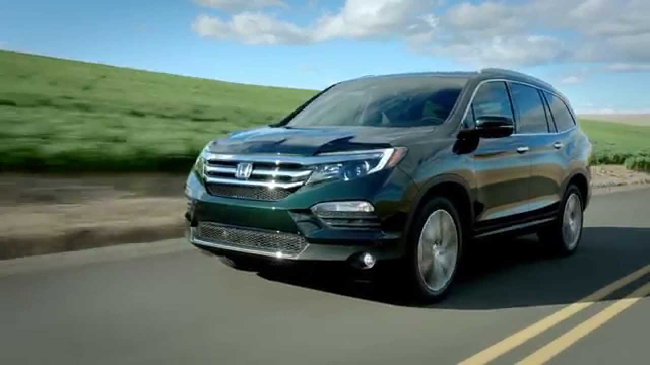 2016 Pilot AWD Touring Black Forest Pearl - YouTube