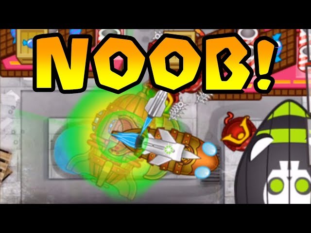 NOOB Gets DESTROYED! INSANE LATE GAME STRATEGY!   Bloons TD Battles