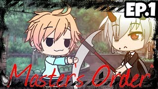 Master's Order ~Ep.1| Vampires are a threat| Gacha Life|Gay Love Story|