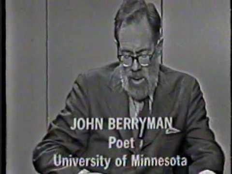 A biography of john berryman a poet