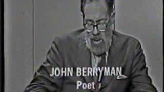 The Poetry of John Berryman (1970) 5/6