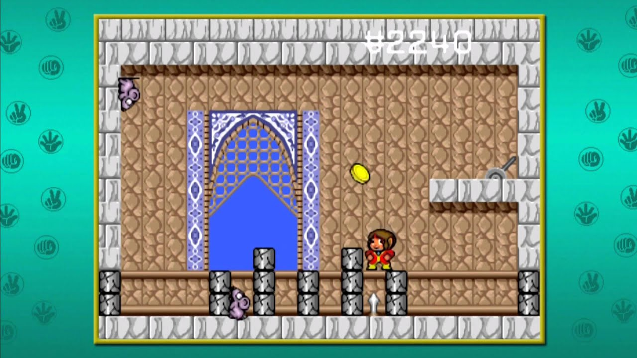 Alex The Kidd In The Enchanted Castle Level 11 Sky Castle Part