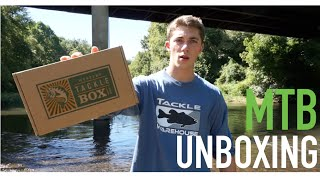 Mystery Tackle Box (Bass Box) Unboxing -- September 2015