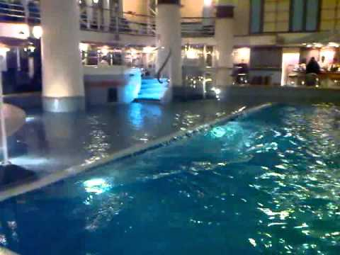 P o cruises ventura beachcomber pool youtube for River cruise ships with swimming pool