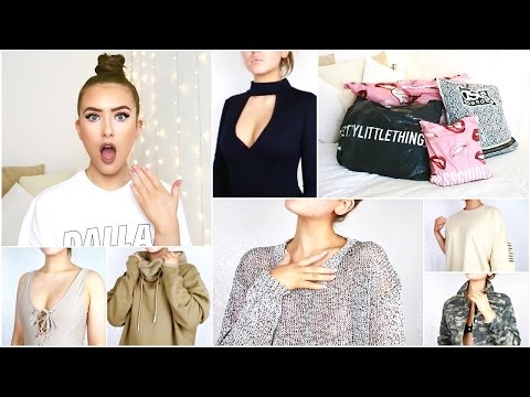 BIGGEST TRY ON CLOTHING HAUL EVER?! AUTUMN/WINTER: ASOS, MISSGUIDED & MORE | Hannah Renée