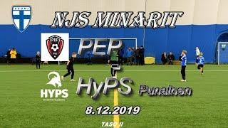 NJS Minarit P11 PEP vs HyPS Punainen 8.12.2019