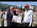 16 08 2018 Yemin Eden 1998   3 Tertip Erler Komando Beresi Taktılar