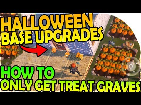 NEW HALLOWEEN BASE UPGRADES, HOW TO ALWAYS GET TREAT GRAVE - Last Day On Earth Survival 1.6.5 Update