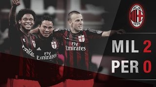 Video Gol Pertandingan AC Milan vs Perugia