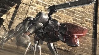 Metal Gear Rising - Blade Wolf Battle (Speedrun)