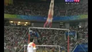 Winner Olympics 2008 Uneven Bars Women's