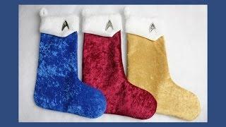 Star Trek Inspired Christmas Stockings! Free Pattern!