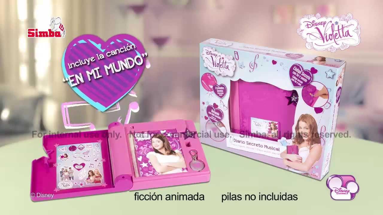 Simba Violetta Diario Secreto Youtube