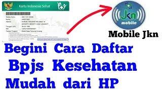 Download Mp3 Cara Daftar Bpjs Kesehatan Online Di Aplikasi Mobile Jkn