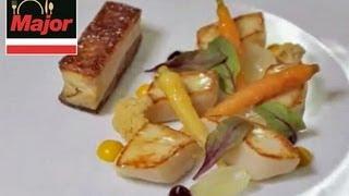 Michelin Star Chef Chris Godfrey, Prepare Scallops, Rack Of Lamb,& White Chocolate Recipes