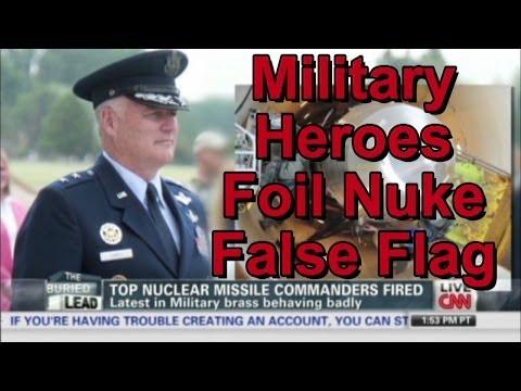 Obama's Plan To Set Off False Flag EMP Foiled By Heroic US Nuke Commanders