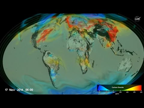 Following Carbon Dioxide Through the Atmosphere
