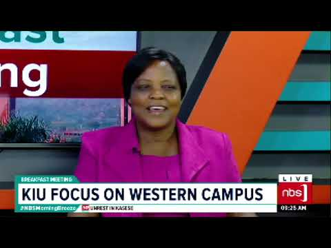 KIU Focus On Western Campus | NBS BreakFast Meeting