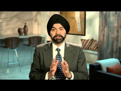 Hear from Ajay Banga, President and CEO of MasterCard, on why financial inclusion matters