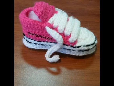 Converse All Star Uncinetto Crochet Pattern All Star Converse Youtube