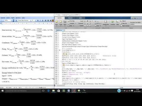 Simple Rankine cycle Exergy numerical solutioin 5, 02 10 15